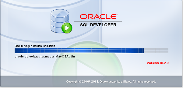 Oracle SQL Developer 18.2